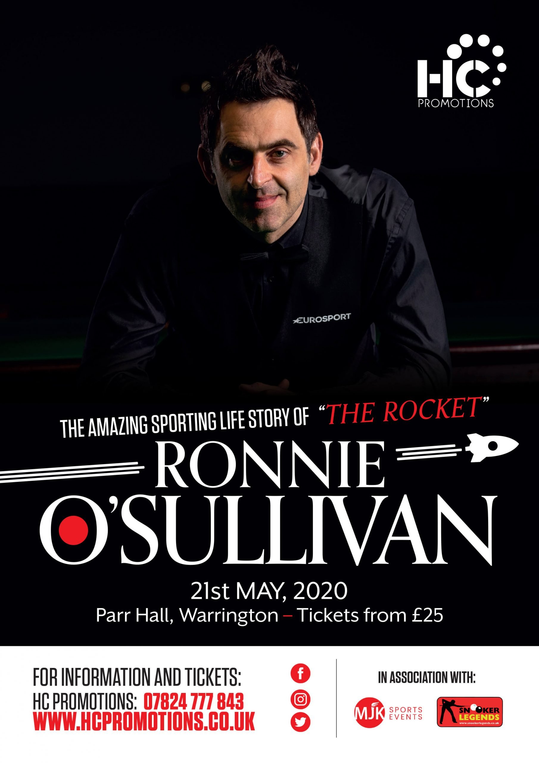 An evening with Ronnie O'Sulllivan