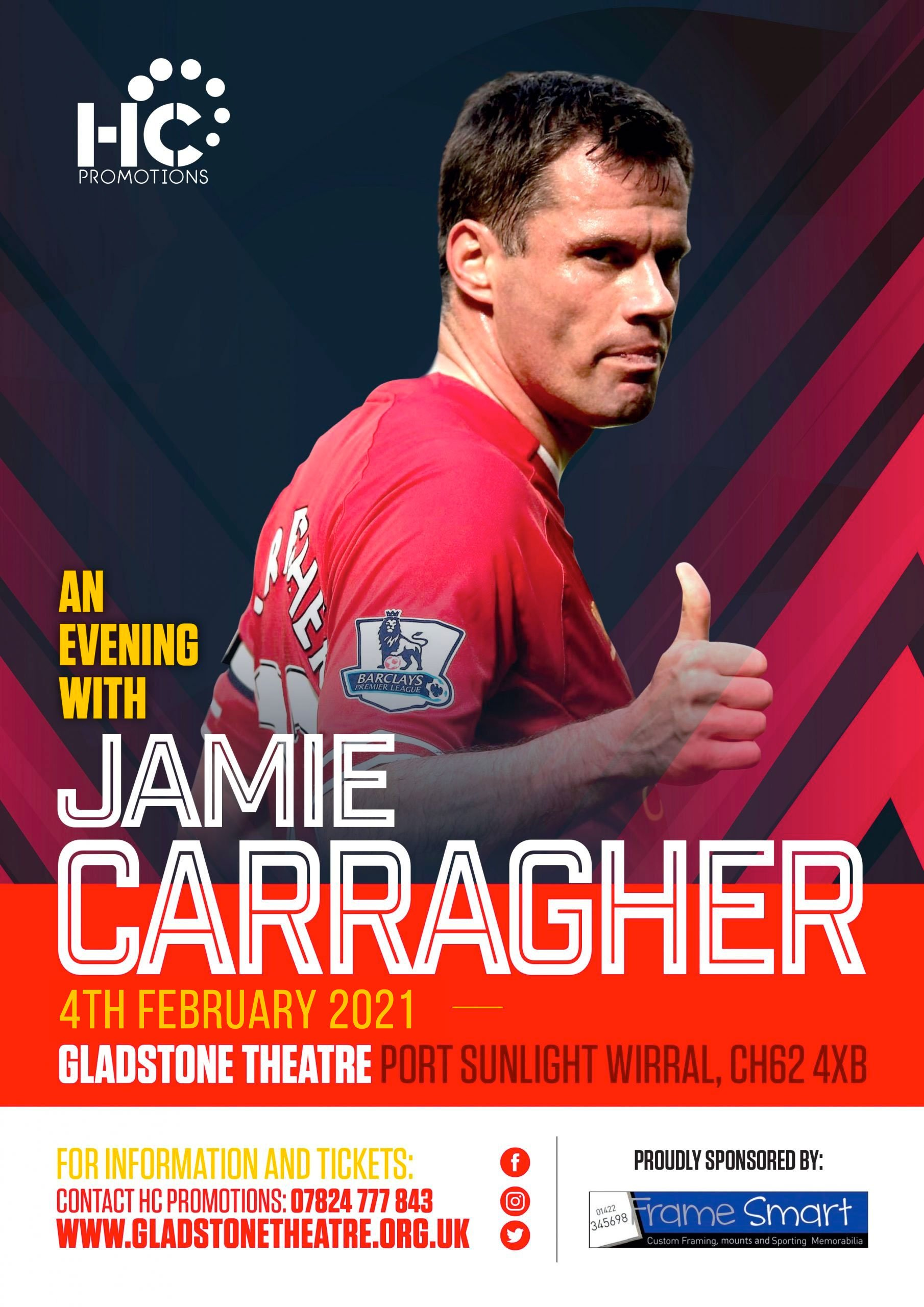 An Evening With Jamie Carragher